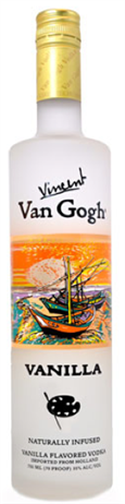 Vincent Van Gogh Vodka Vanilla